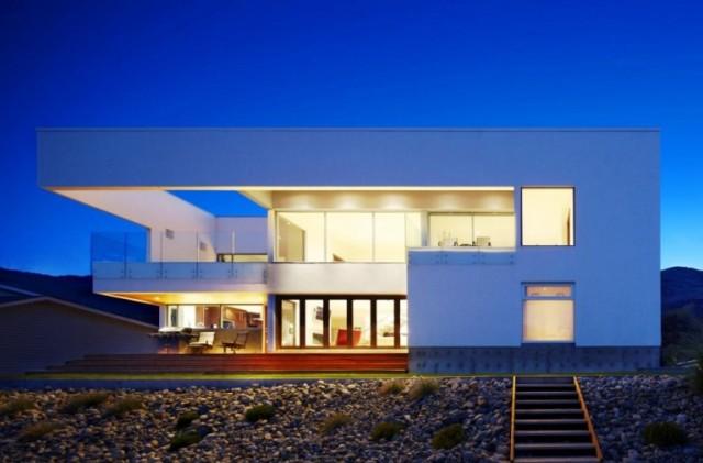 modern huis plat dak